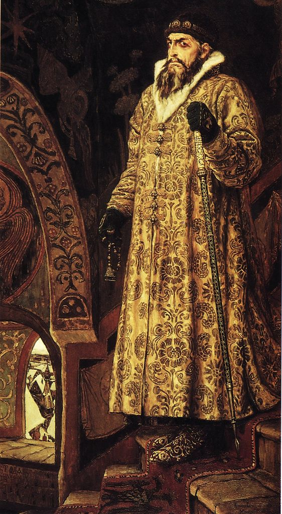 В м васнецов царь иван грозный 1897