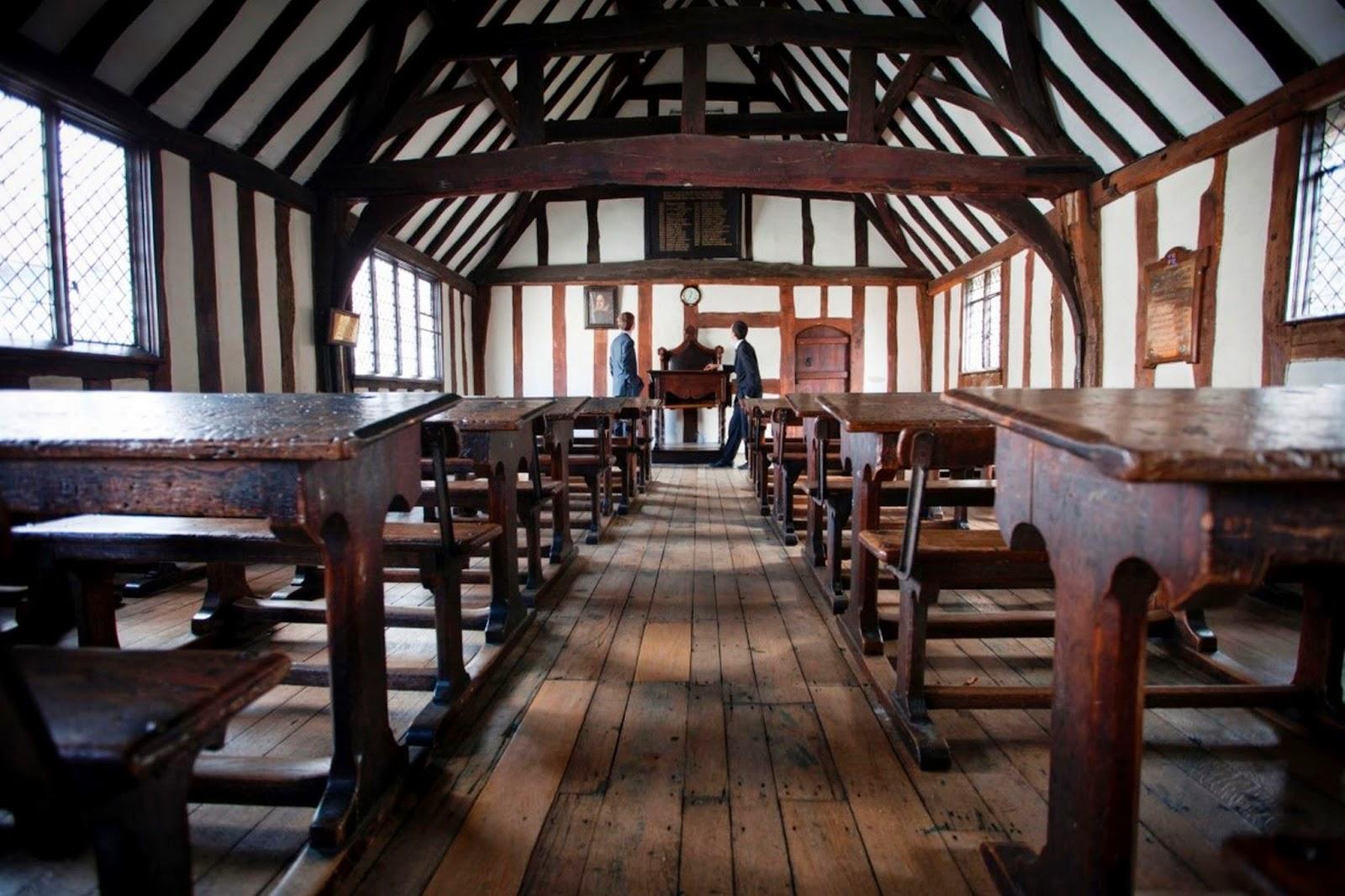 «Шекспировский класс» в стратфордской школе Короля Эдуарда