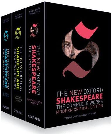 Новое оксфордское собрание сочинений Шекспира